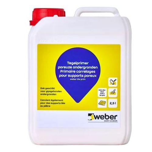 Weber prim tegel voorstrijkmiddel 2,5L