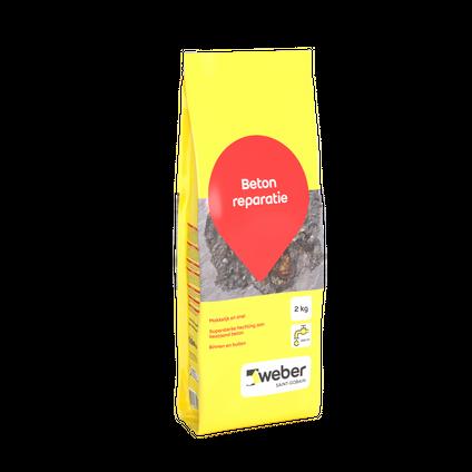 Weber repair beton reparatiemortel 2kg