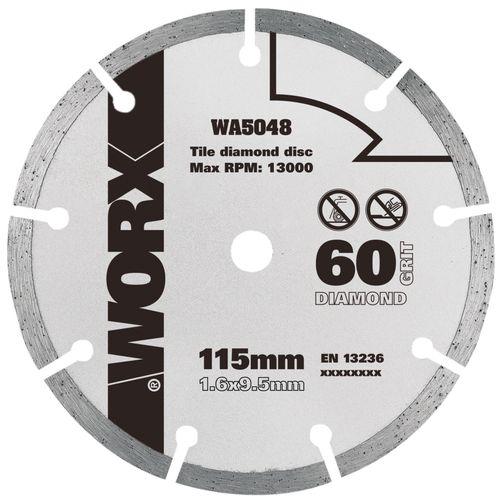 Worx cirkelzaagblad WA5048 diamant 115 mm