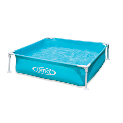 Piscine Intex 'Mini frame' bleu