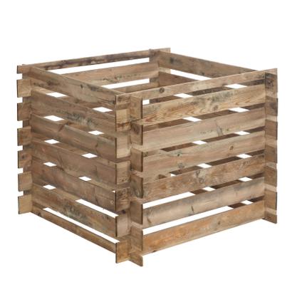 Silo à compost Forest Style bois 480 L