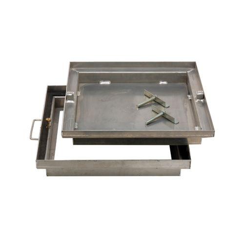 Coeck betegelingsdeksel aluminium 79x79cm