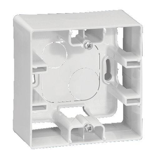 Legrand niloé opbouwkader 1 module wit