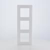 Plaque triple horizontale/verticale niloé Legrand blanc