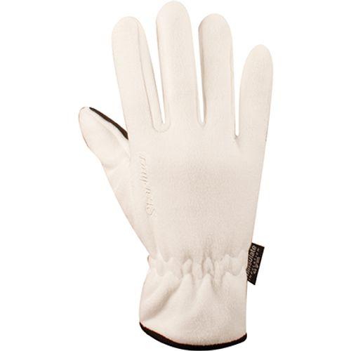 Handschoenen Fleece wit maat L