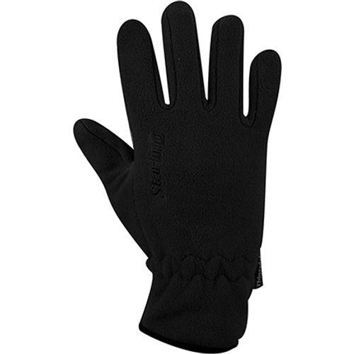 Handschoenen Fleece zwart maat L