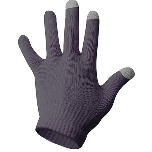 Handschoenen Touch antraciet maat S - M
