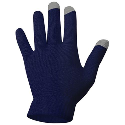 Handschoenen Touch marine maat L - XL