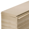 MDF-paneel 244 x 122 x 1,8 cm