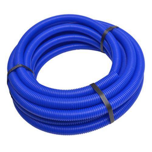 Sanivesk Meerlagenbuis D26 Rol 5m blauw