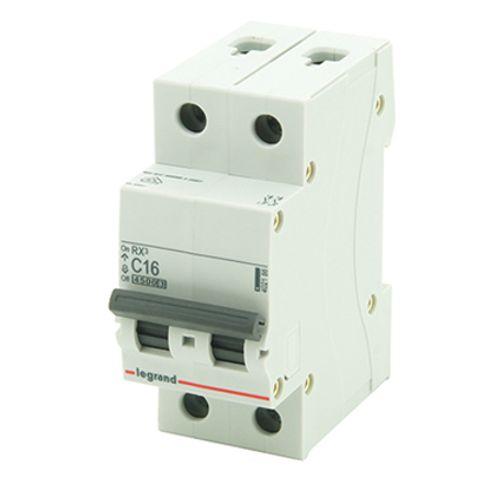 Disjoncteur modulaire Legrand 2 pôles 16A