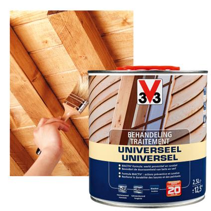V33 behandelingsproduct hout universeel kleurloos 2,5L