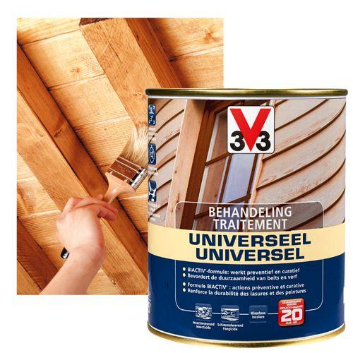 V33 behandelingsproduct hout universeel kleurloos 750ml