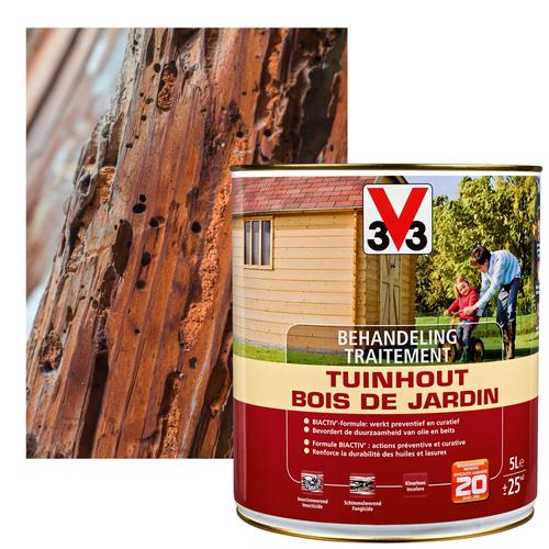 Traitement bois de jardin V33 5L