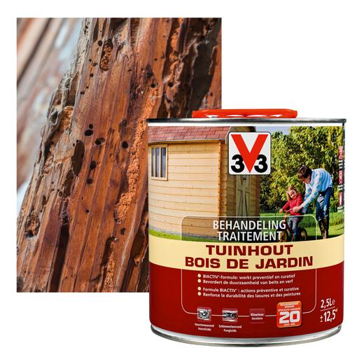 Traitement bois de jardin V33 2,5L