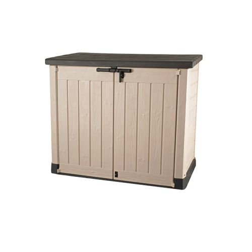 Keter opbergkast Store It Out Max beige/bruin 146x82x125cm
