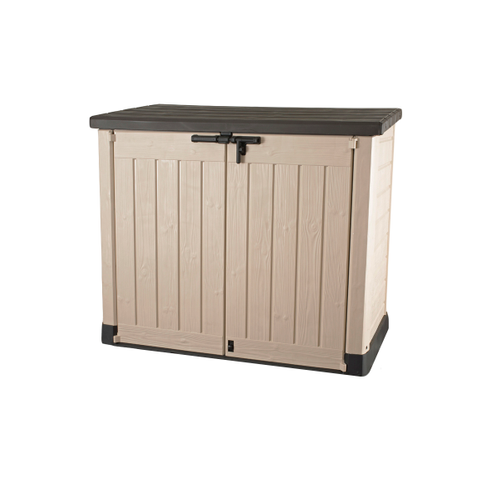 Keter opbergkast Store It Out Max beige bruin 146x82cm