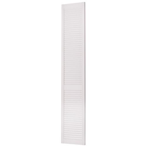 JéWé louvredeur grenen gegrond wit 198x38cm