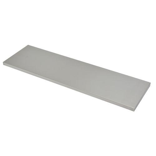 Duraline wandplank '4xSXS2' rvs 1,8 x 80 x 23,5 cm