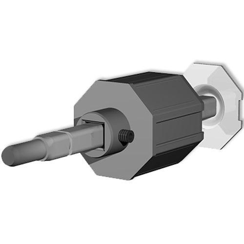 Embout amovible avec pivot Packline PVC 12 mm