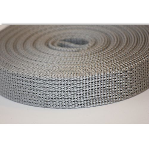 Sangle pour volet roulant Packline gris 22 mm/10 m