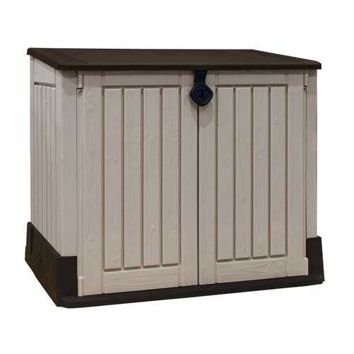 Coffre de jardin Keter 'Store-It-Out Midi' beige/bruin 130 x 74 cm