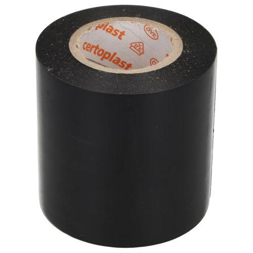 Sanivesk Tape PVC Zwart 50 mm x 10m 4pp
