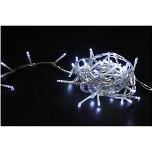 Guirlande Central Park 'X-Mas' blanc froid - 100 ampoules