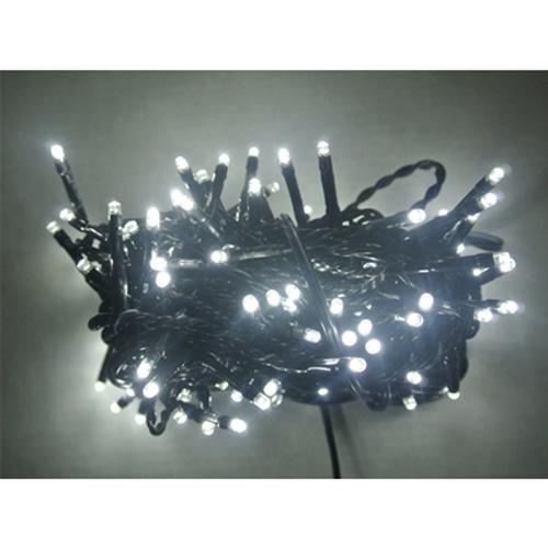 Guirlande électrique Central Park blanc - 100 ampoules