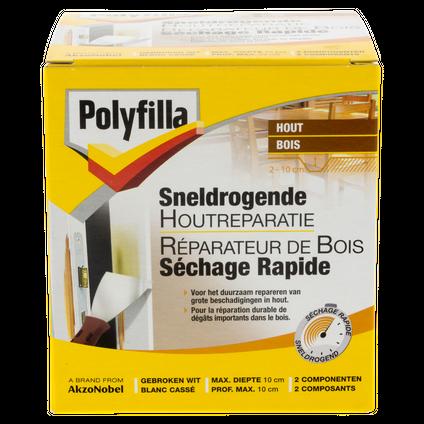 Réparateur bois Polyfilla séchage rapide 500 gr