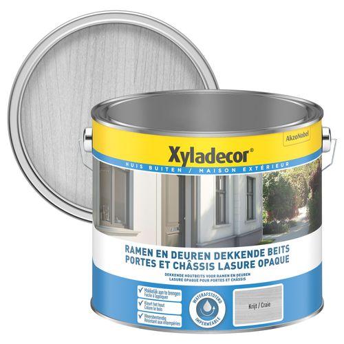 Lasure Xyladecor Portes & Châssis opaque craie satin 2,5L