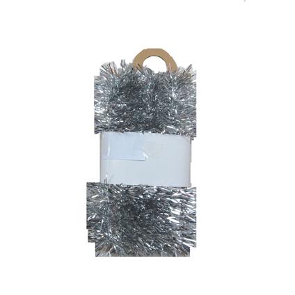 Kerstslinger zilver Central Park 270x5cm