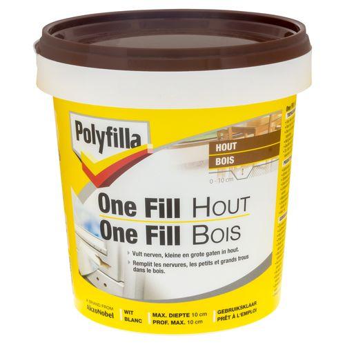 Polyfilla houtvuller 'One-Fill' 500 gr