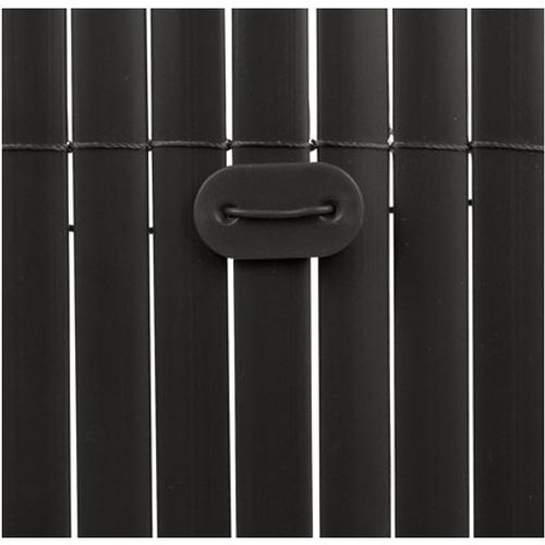 Fixation canisse 'Fixcane' noir – 26 pcs