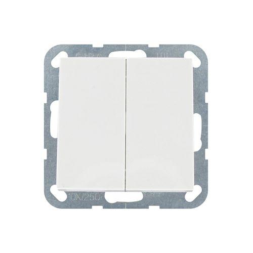 Gira serieschakelaar ST55 wit