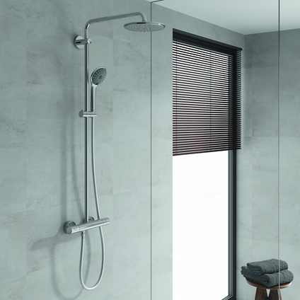 Grohe douchesysteem met thermostaatkraan Vitalio Joy XXL 210mm chroom