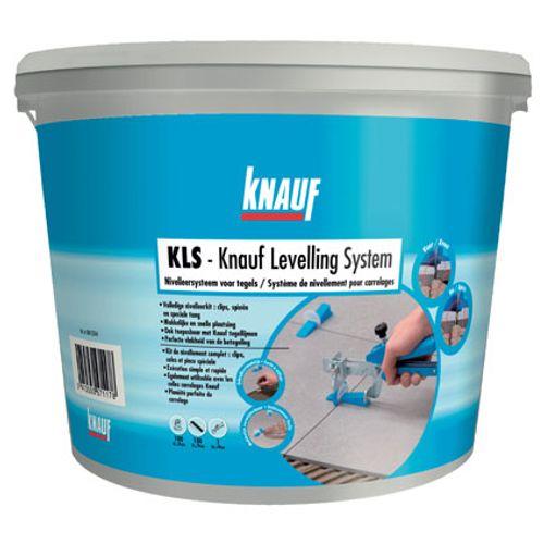 Système de nivellement de carrelage Knauf