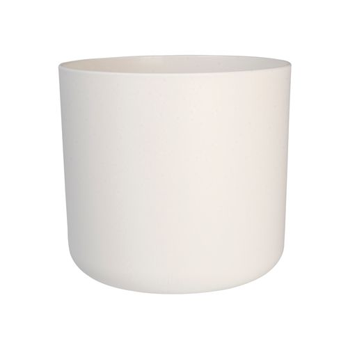 Pot Elho 'B. For Soft Round' blanc 14 cm
