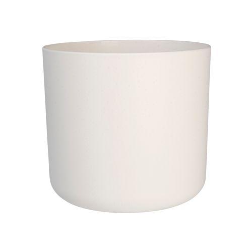 Pot Elho 'B. For Soft Round' blanc 16 cm