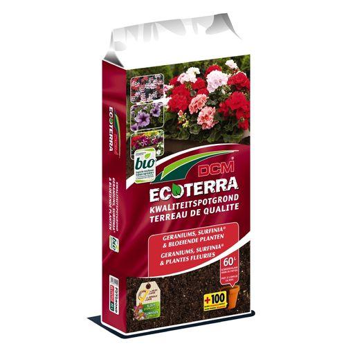 Terreau plantes fleuries DCM Ecoterra 60L