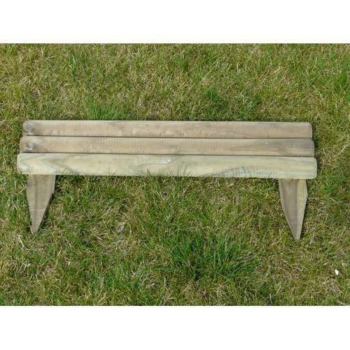 Solid tuinborder 'Cambridge' hout 55 x 30 cm