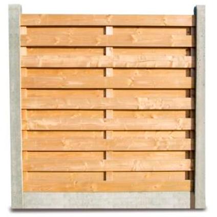 Poteau de fin en béton 12 x 12 x 275 cm