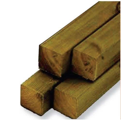 Tuinpaal hout 240 x 12 x 12 cm