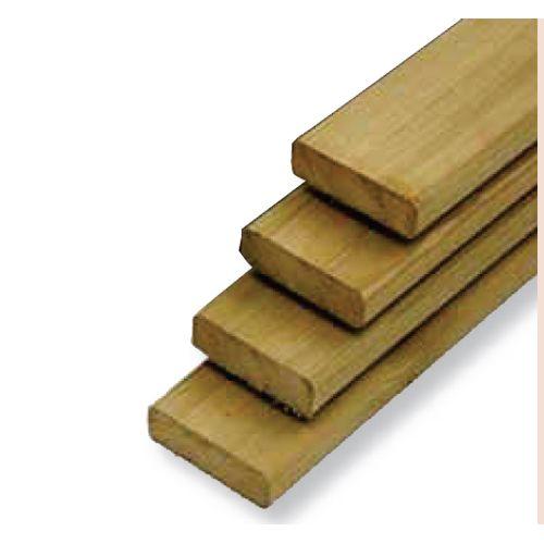 Tuinplank hout 300 x 14,5 x 4,5 cm