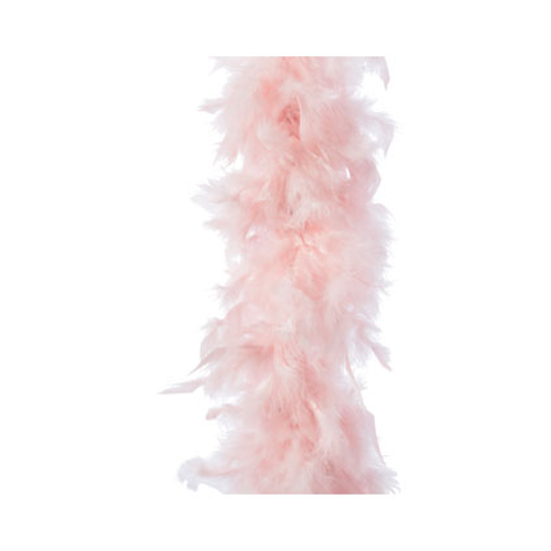 Veren boa poeder roze 184cm