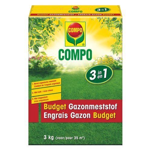 Engrais Gazon Compo Budget 35m² 3kg