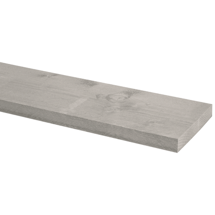 Steigerhout grijs 250x19,5x3cm