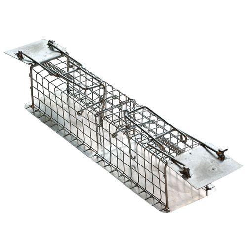 Cage piège à souris Edialux 2 entrées