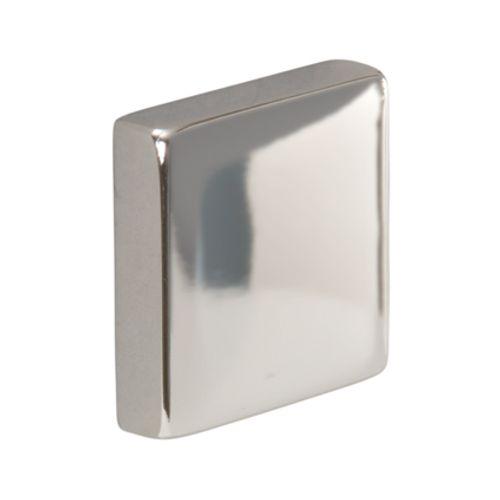 JéWé eindkap voor trapleuning vierkant chroom 40 x 40 mm - 2 stuks