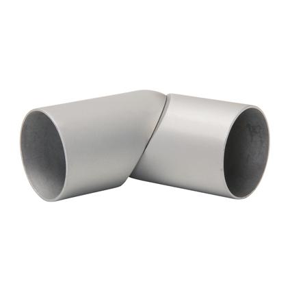 JéWé flexibel koppelstuk 90-180° voor trapleuningen Ø45mm aluminium